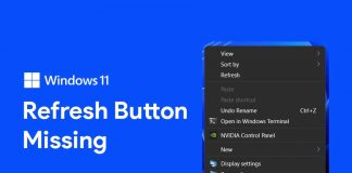 Windows 11 Refresh Option Missing? Here's How to Get Refresh Button Back