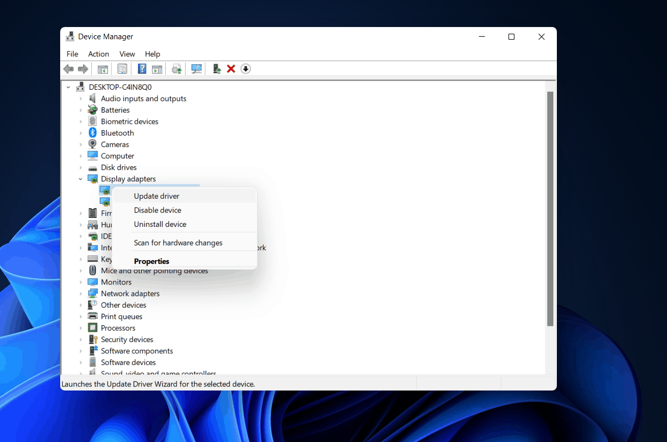Fix The Second Monitor Not Detected on Windows 11