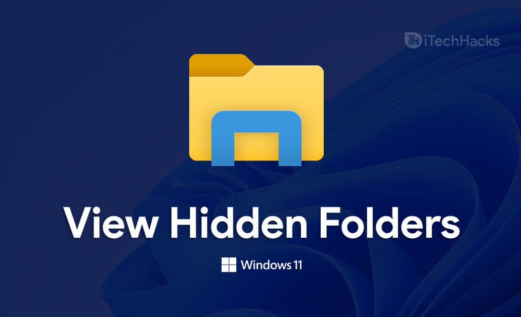 How To View Hidden Folders and Files In Windows 11