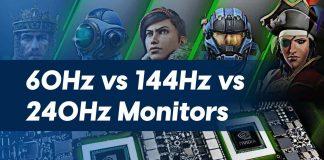 60Hz vs 144Hz vs 240Hz Monitors Comparison