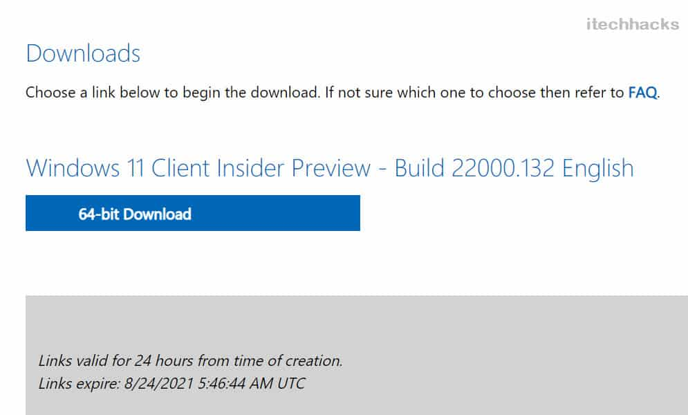 Downloading ISO Files for Windows 11