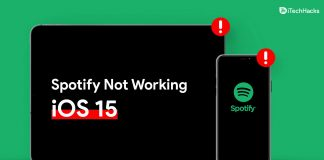 How To Fix Spotify Not Working On iOS 15