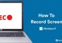 How To Record Screen In Windows 11