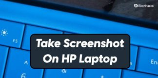 How To Take a Screenshot On HP Laptop