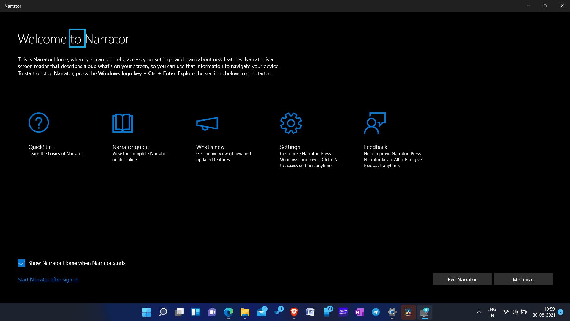 Windows 11 Text-To-Speech