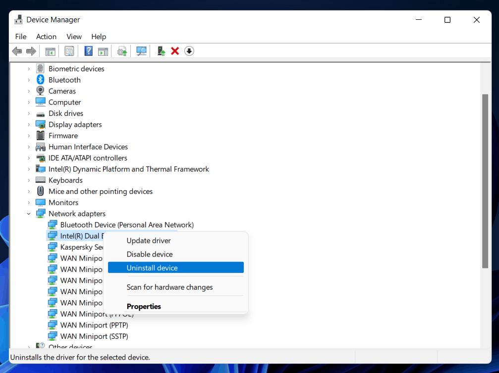 Windows 11 Ethernet Not Working (Ethernet Driver Problem)