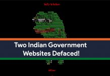 Two Indian Government Websites Have Been Hacked, Revealing Security Flaws