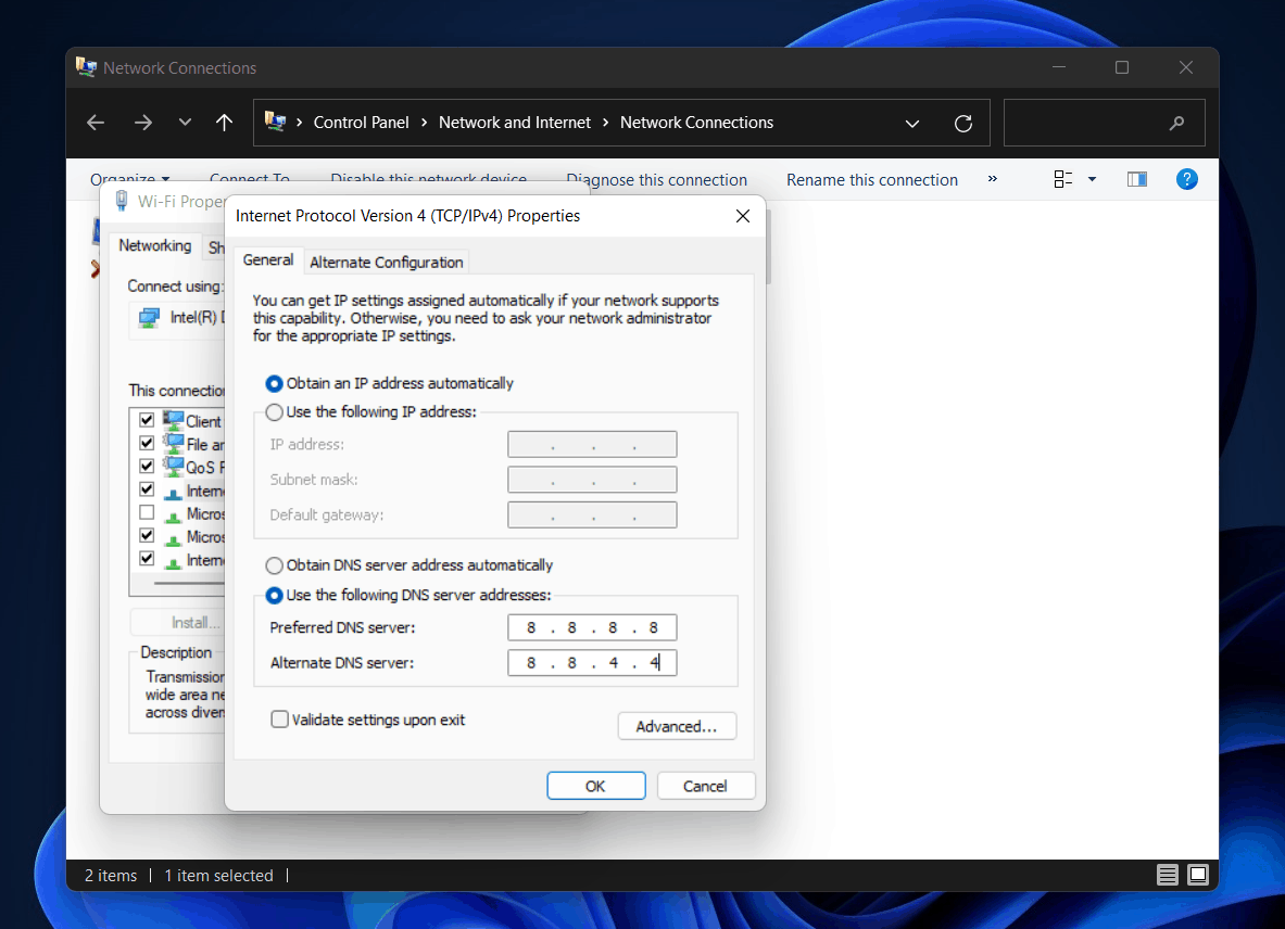 How To Fix The DNS Server Unavailable In Windows 11?