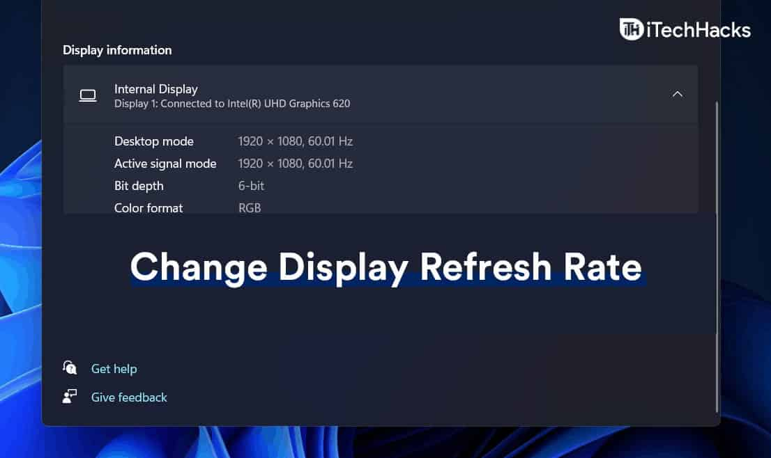 How To Change Display Refresh Rate On Windows 11