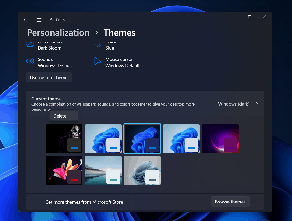 How To Fix Windows 11 Can't Find One Of The Files In This Theme