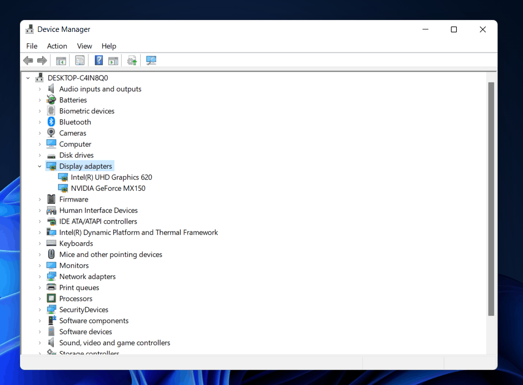 How To Check Graphics Card In Windows 11?