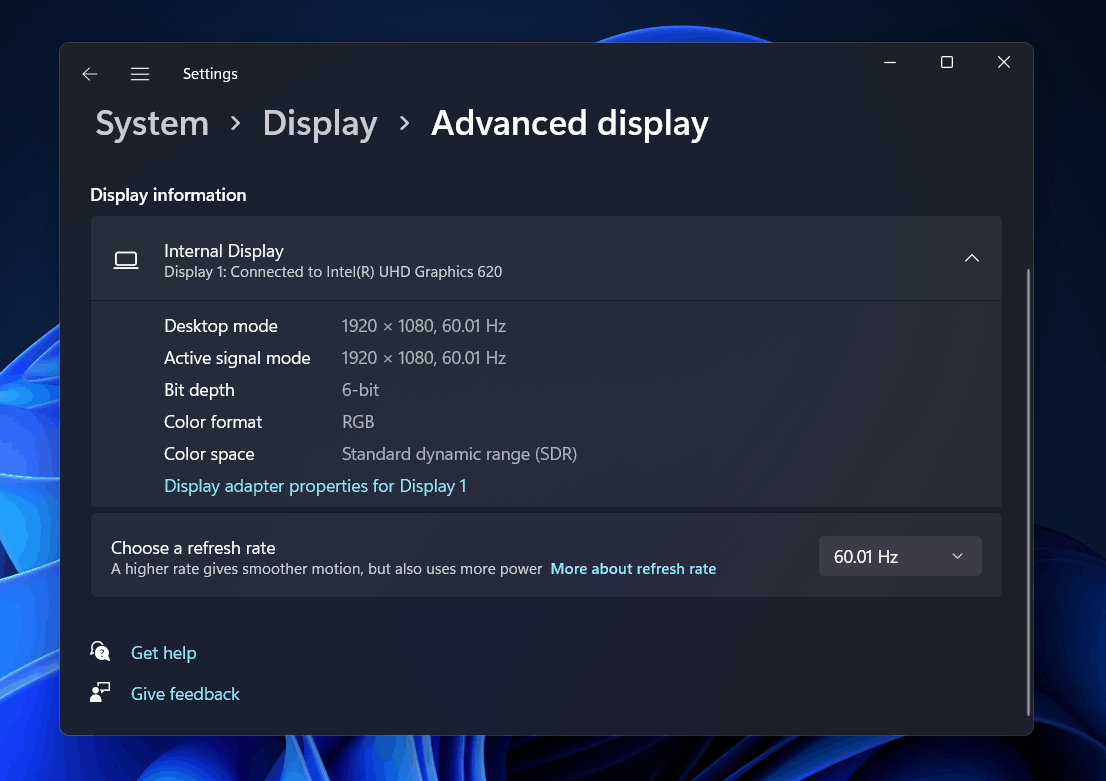 How To Change Display Refresh Rate On Windows 11?