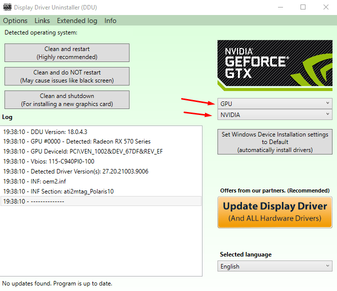 Remove GPU Drivers - 6