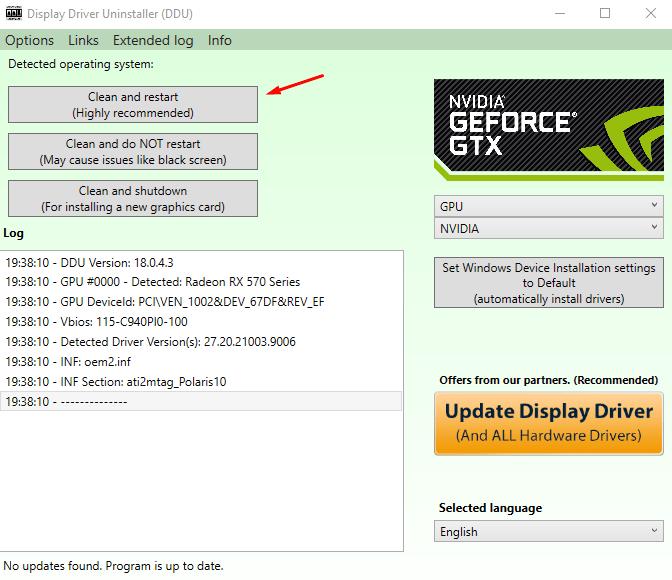Remove GPU Drivers - 7