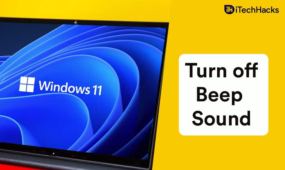 How to Turn Off Beep Sound in Windows 11