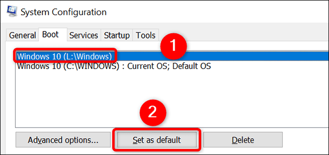How To Set The Default OS On A Windows Dual-Boot Computer?